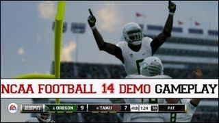 NCAA Football 14 Demo Gameplay [HD]