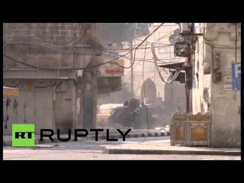 Lebanon: See Lebanese military battle it out with Tripoli gunmen