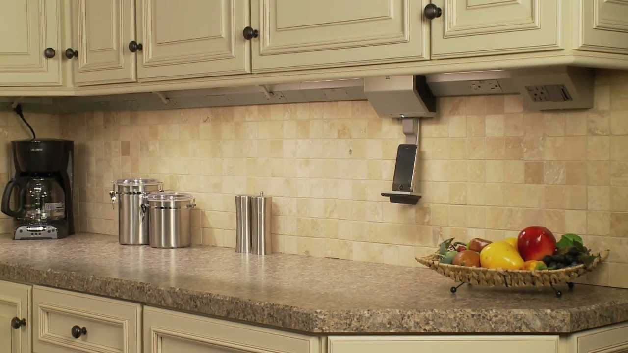Adorne: How To Mount An Adorne Under Cabinet System   YouTube