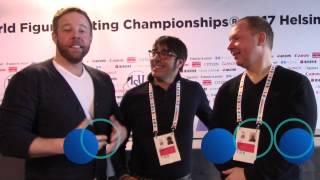 2017 Golden Skate Interview with coaches Alexander König and Jean-François Ballester