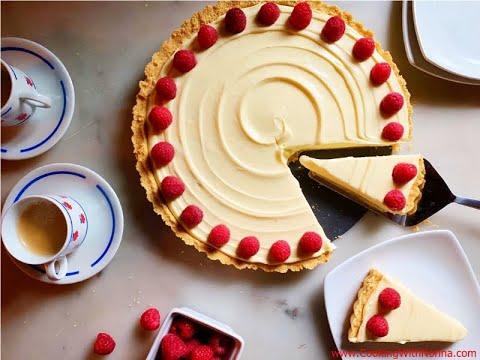 Lemon - Mascarpone No-Bake Tart - Rossella's Cooking With Nonna