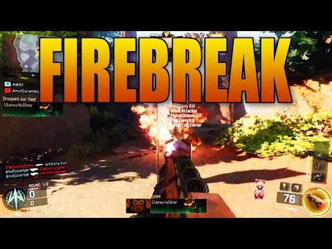 "Black Ops 3 ""FIREBREAK"" Flamethrower Gameplay!  Specialist w/ Heat Wave Powers!"