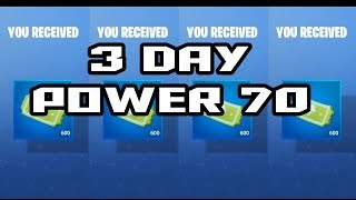 Fortnite Survive The Storm Power 70 3 Days | Rewards | Let's team | Add your info below!