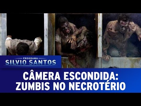 Zumbis no Necrotério (Zombies in the Morgue) | Câmera Escondida (12/03/17)