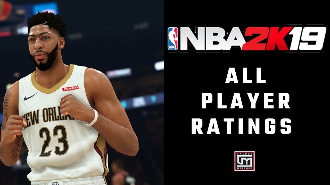 NBA 2K19' Complete Player Ratings For Every Player In The Game