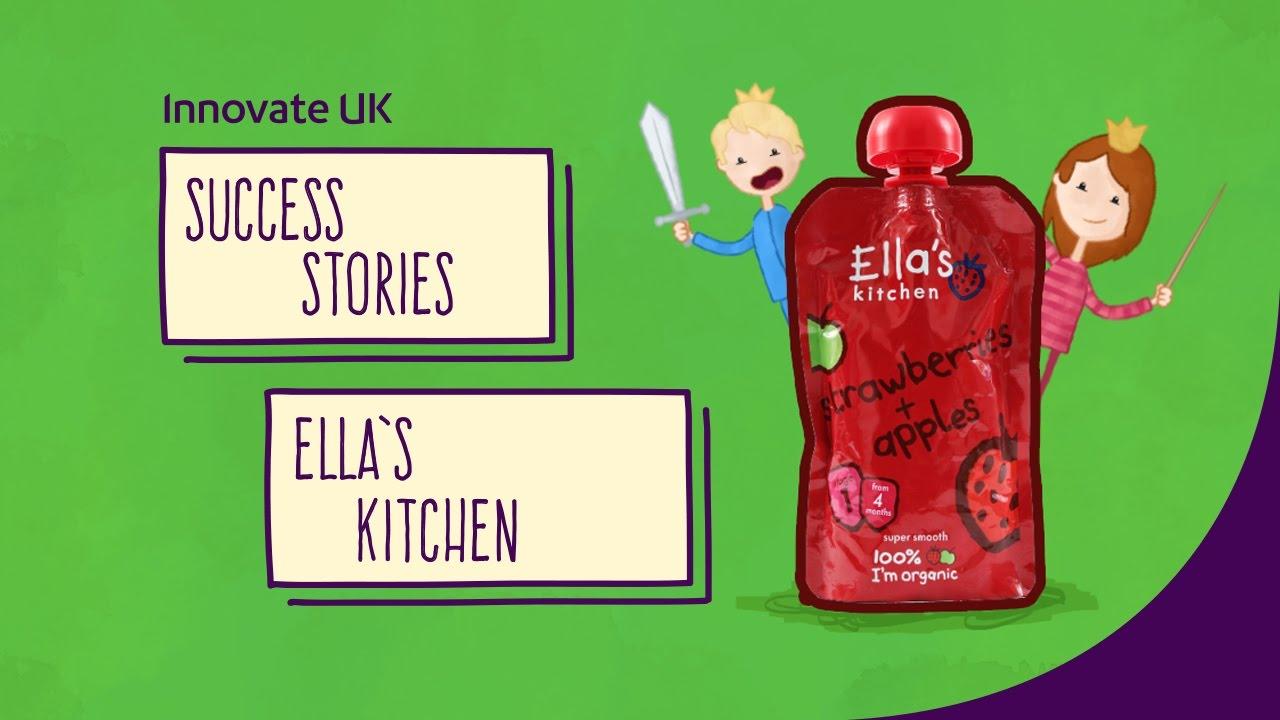 Ellas Kitchen Baby Food Yellow Rug Ella S Transforming The Organic Market Youtube