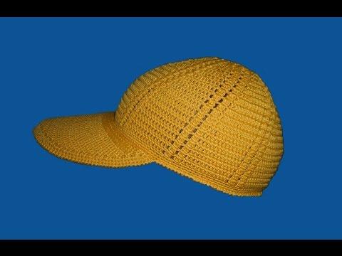 бейсболка часть I Baseball Cap Part I Youtube