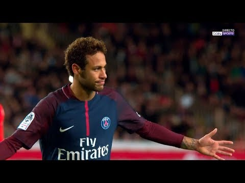 Neymar vs Monaco HD 720p (26/11/2017) - Ligue 1