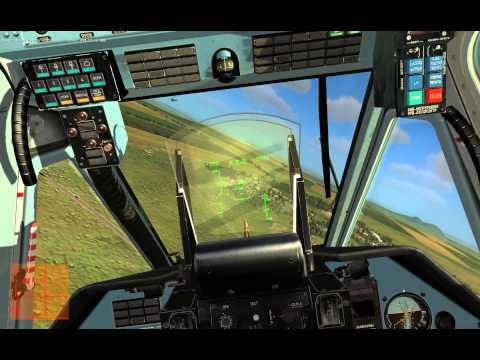 DCS KA-50 Black Shark Обучение 4 (Ускоренный запуск)