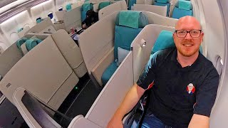 FLYING TO A COUNTRY I CAN'T ENTER: Korean Air Business Class