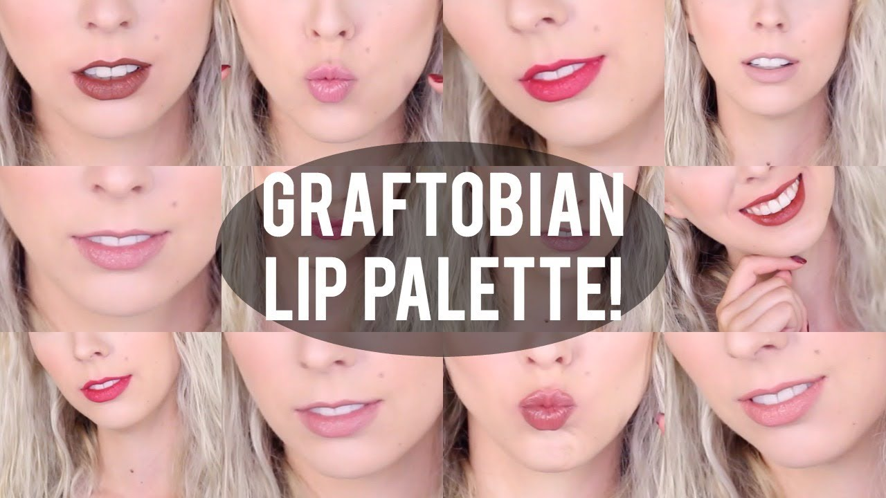 HD Super Lip Palette by graftobian #7