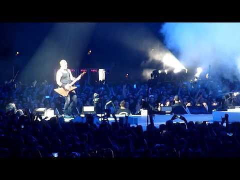 Metallica live Lyon France Halle Tony Garnier 2017 (Enter Sandman)