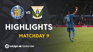 Highlights Getafe CF vs CD Leganes (2-0)