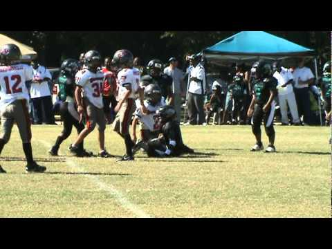 Ryan Jeffords #2 Shedding the blocker and making a nice tackle for loss