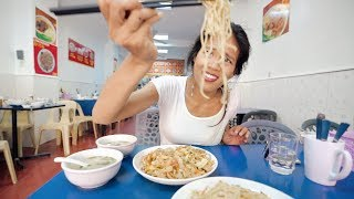 Tasting MANILA's CRAZIEST HANDMADE NOODLES - Manila Street Food