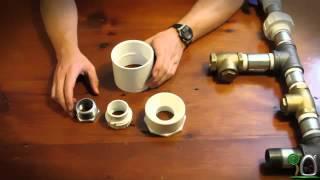 Cara Merakit Pompa HIDRAM bahan PVC - You Tube