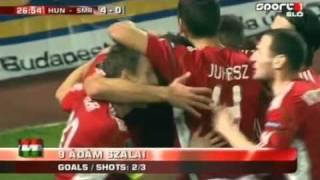 Magyarország - San Marino 8-0 ::: összefoglaló