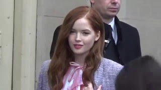 Ellie BAMBER @ Paris Fashion Week 26 january 2016 show Chanel
