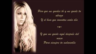 vuclip Shakira - Que me quedes tú Letra