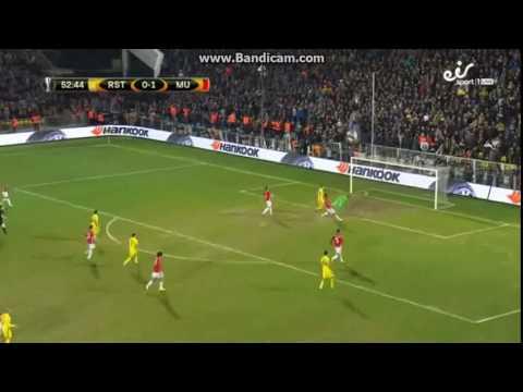 Rostov : Manchester United / GOAL - Bukharov - 1:1