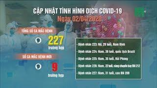 Việt Nam ghi nhận thêm 9 ca nhiễm Covid-19 mới   VTC14