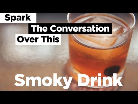 Spark The Conversation Over This Smoky Drink