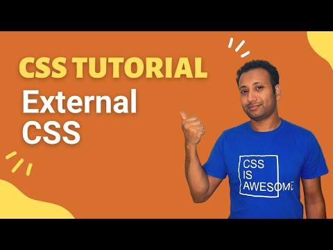 CSS3 Bangla Tutorial 4 : External CSS thumbnail