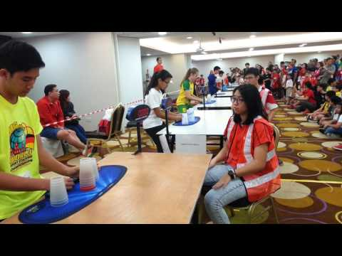 Singapore open sport stacking championship stack out challenge(full video)