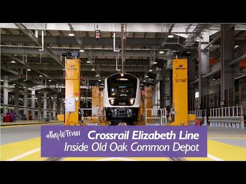 Inside Old Oak Common Depot