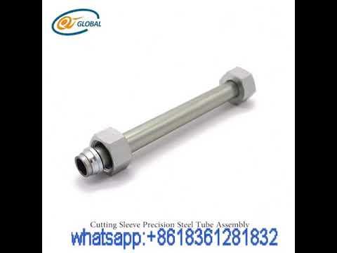 EN10305-4 Cold Drawn Galvanized High Precision Pipe