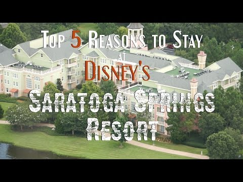 Top 5 Reasons to Stay at Disney's Saratoga Springs Resort
