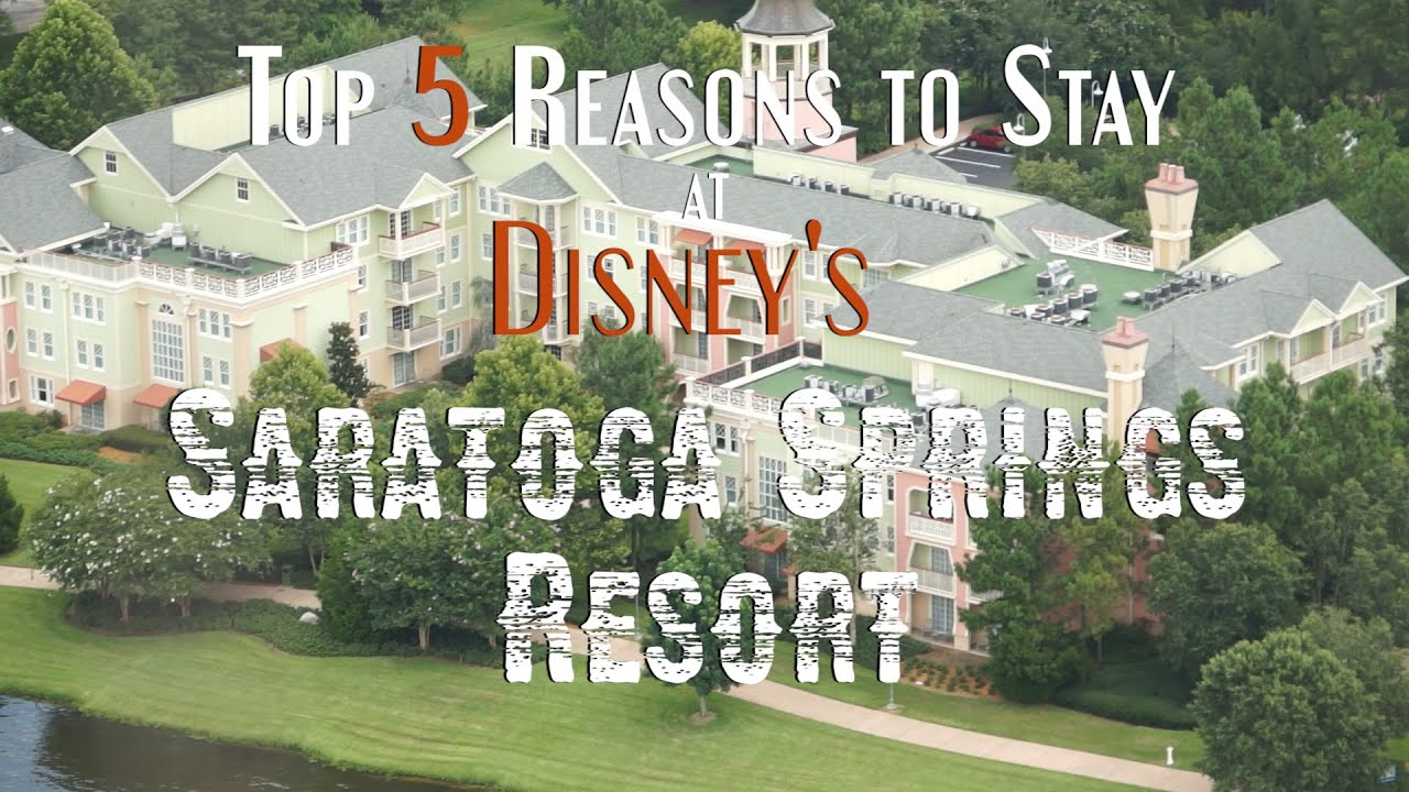 Top 5 reasons to stay at disney 39 s saratoga springs resort for Where to stay in saratoga springs ny