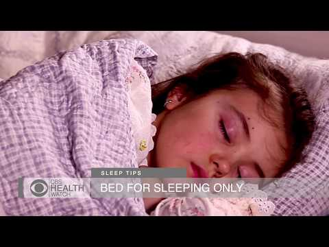 Three tips to help your child sleep better
