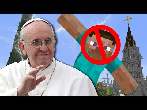 I Got Banned On The Vatican's Minecraft Server