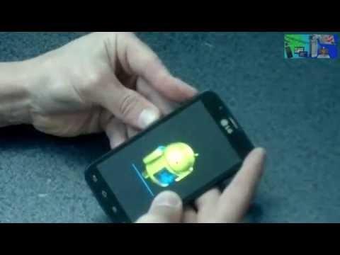 LG L7 P716 Как снять графический ключ HARD RESET