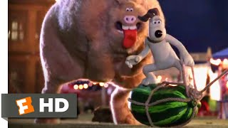Wallace & Gromit: The Curse of the Were-Rabbit (2005) - Rabbit Bait Scene (8/10) | Movieclips