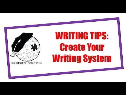 how to create a writing system