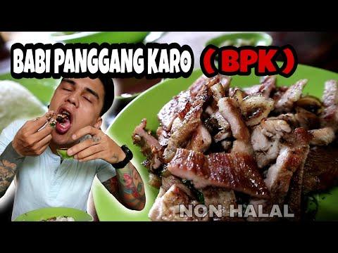 Mukbang Babi Panggang Karo ( BPK ) , Makanan Khas Medan ( Non Halal ) | Tatto Art | Gogo Sinaga
