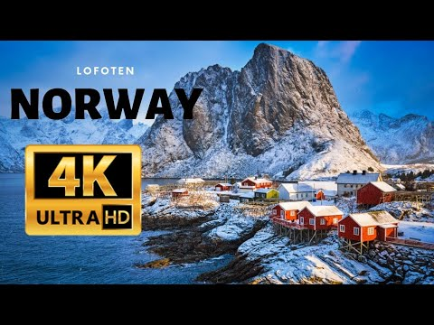 Norway FROM ABOVE In 4k