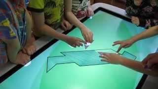 Интерактивный стол в детском саду(Интерактивный стол в детском саду., 2015-02-24T16:21:08.000Z)