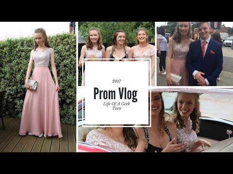 Prom Vlog 2017 // GRWM + Photos