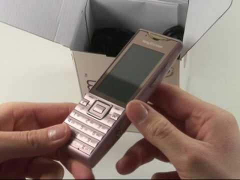 Sony-Ericsson Elm Test Erster Eindruck
