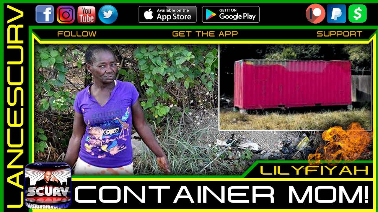 THE CONTAINER MOM OF JAMAICA UPDATE! - THE LANCESCURV SHOW