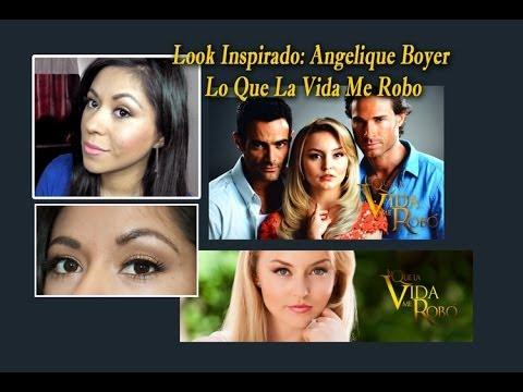 Look Inspirado Angelique Boyer Lo Que la Vida Me Robo  YouTube