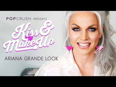 """Ariana Grande """"Focus"""" Tutorial: Kiss & Makeup With Courtney Act"""