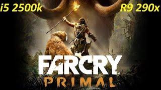 Far Cry Primal Benchmark R9 290x Ultra Setting  1080p60FPS