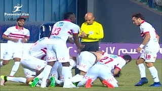 أهداف مباراة الزمالك vs طلائع الجيش | 3 - 0 الجولة الـ 27 الدوري المصري