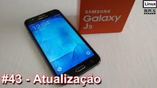 Samsung Galaxy J5 - Atualização - Português