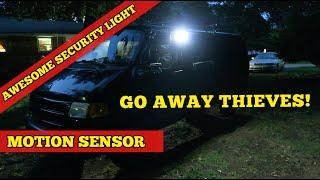 Adventure Van ~ Litom Solar Outdoor Motion Sensor LED Lights