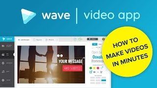 Wave.video Walkthrough Tutorial (2017)